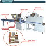 La rangée simple met la machine en bouteille d'emballage en papier rétrécissable (SWF-590 SWD-2000)
