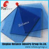 6 mm de verre flotté teinté bleu foncé avec ce/ISO