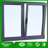 De Aluminio recubierto de polvo de giro e inclinación de la ventana