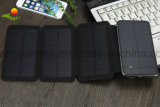太陽電池パネルの携帯電話クリップ式力バンクのための防水ポータブルUSB電池の太陽充電器