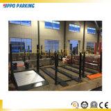 屋外か屋内ガレージで使用される二重郵便車の駐車エレベーター