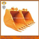 Cubeta padrão da rocha das peças sobresselentes do carregador de Shantui Sanyi KOMATSU