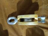 Tipo bloco de JIS de polia de madeira da única polia com olho
