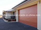 水平の折るガレージのドアのブラウンカラーガレージのドア