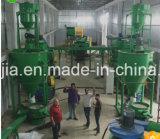 Ahorro de energía Reciclaje de Llantas en polvo Línea de goma