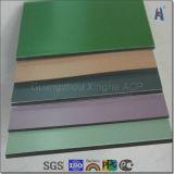 4mm 0,4mm PVDF Feuille composites en aluminium
