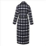 Revestimento preto e branco da cintura de pano do caso para a roupa da mulher