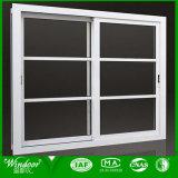 Professionnels de la fenêtre coulissante horizontale de l'aluminium en provenance de Chine