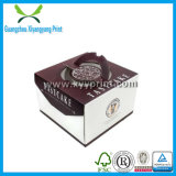 Изготовленный на заказ бумажная конструкция коробки именниного пирога