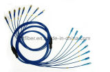 Sc-FC Optical Fiber Optic gepantserde Patch Cord Cable