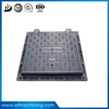 Ductile OEM Iron Sand Casting Manhole Cover for Recessed Drainage