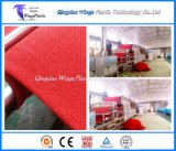 PVC 코일 방석 지면 매트/지면 패드/차 매트를 위한 중국 플라스틱 압출기