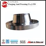 La bride de collet de soudure d'acier du carbone de la norme ANSI B16.5 a modifié la bride pour la marine