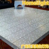 Disco blanco y negro Dance Floor el 12FT * el 12FT del centelleo LED Dance Floor