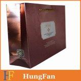 Напечатанная хозяйственная сумка бумаги подарка Hf2017 с UV