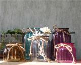 De met de hand gemaakte Decoratieve Fles van /Glassware/Glass van de Vaas van het Glas voor Huis Derocation