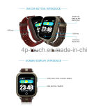 GPS van het Scherm van de aanraking het Volwassen Horloge van de Drijver met het Tarief van het Hart (D28)