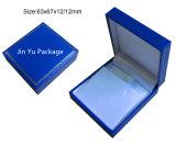 قوّة بحريّة اللون الأزرق تمويه جلد هبة مجوهرات يعبّئ صندوق لأنّ سوار