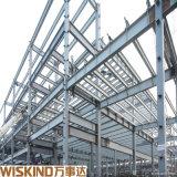 Широкий Span индивидуальные изготовлены металлические стальные конструкции ангара