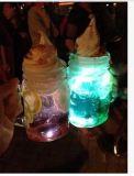 Tarro de cristal del masón al por mayor, botella de agua, envase del masón