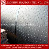 SS400 углерода Клетчатый стальной плиты для строительства
