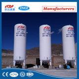 Tanque de armazenamento liquefeito do líquido criogênico do CO2 do argônio do nitrogênio do oxigênio