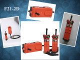 Grue par radio sans fil de F21-2D à télécommande, grue industrielle à télécommande