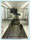 Yogurt Catering Van de Mobile Vrachtwagen van het Snelle Voedsel voor Verkoop in Qingdao