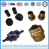 Механически счетчик воды, объемный тип счетчик- расходомер воды