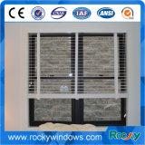 Verticale di alluminio/sulla finestra giù di scivolamento