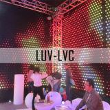 Cortina de LED RGB LED/Luz de estágio (LUV-LVC)