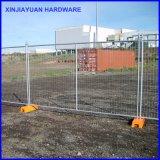 Tableau de clôture temporaire du tube rond du marché australien 2.1mx2.4m