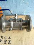 Vávula de bola de acero inoxidable de Dn40 1000wog (Q41F-DN40-1000WOG)