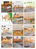 Foldable 재 단단한 나무 식탁 및 의자