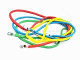La bicyclette de Hambroline partie la corde élastique avec le crochet
