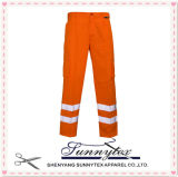 2017 calças elevadas da visibilidade do desgaste do trabalho (HV-005)