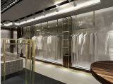 Mobilia della visualizzazione dell'indumento, indumento su ordinazione Shopfitting degli uomini