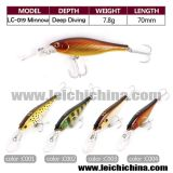 En stock Hard Plastic Fishing Tackle Lure Minnow Lure