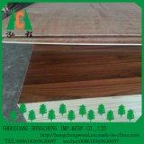 madeira compensada laminada tomada o partido dobro da cor da grão de 18mm melamina de madeira
