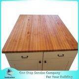 주문을 받아서 만들어진 대나무 싱크대, 식탁 상단, Woktop