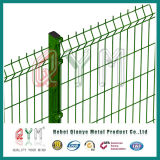 Revestido de PVC 3D/ cerca de malha de arame soldado painéis da Barragem de Jardim