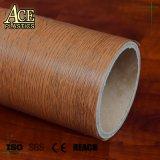Folha de PVC de grãos de madeira de móveis para a membrana e prensa de vácuo Folha de PVC para porta/MDF