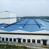 Stahlrahmen-vorfabriziertes Gebäude mit fünf Continuou Überspannungen