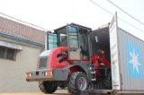 Il Ce ha approvato il caricatore della rotella da 1 tonnellata con il caricatore della parte frontale