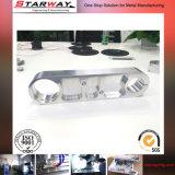Изготовленный на заказ части точности алюминия подвергли механической обработке CNC, котор подвергая механической обработке