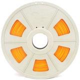 El pla de 1,75mm naranja de filamentos de impresión 3D para la impresora 3D.