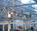 Grande tenda Wedding decorata classica per 500 genti