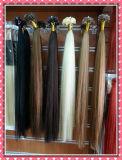 Capelli piani Pre-Legati 20inches serico di punta di estensioni brasiliane Premium dei capelli umani