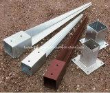 Puder-überzogene justierbare verriegeln unten Zaun-Pfosten-Halter