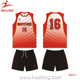 Conception de Chine Healong Sport uniformes de volley-ball de sublimation d'usure